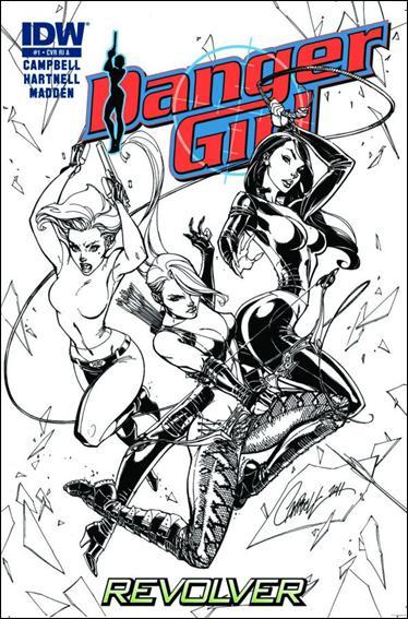 Danger Girl: Revolver 1-C by IDW