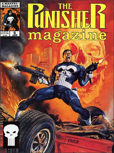 Punisher Magazine 6-A by Marvel