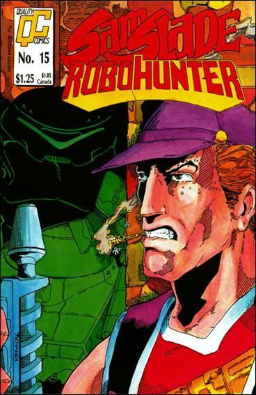 Sam Slade Robo Hunter (UK) 15-A by Quality Comics