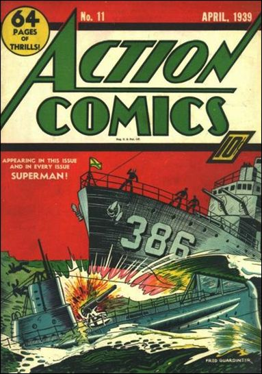 Action Comics (1938) 11-A by DC