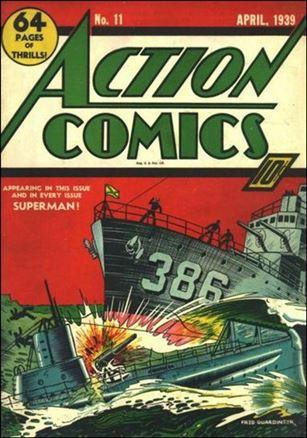 Action Comics (1938) 11-A