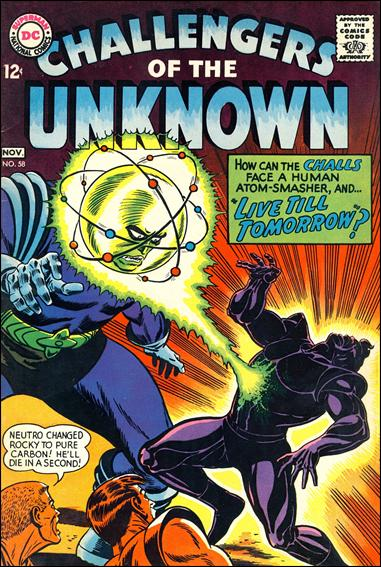 Challengers of the Unknown (1958) 58-A by DC