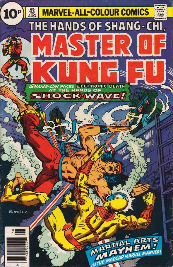 Master of Kung Fu (1974) 43-C by Marvel
