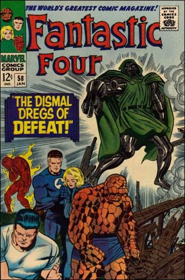 Fantastic Four (1961) 58-A by Marvel
