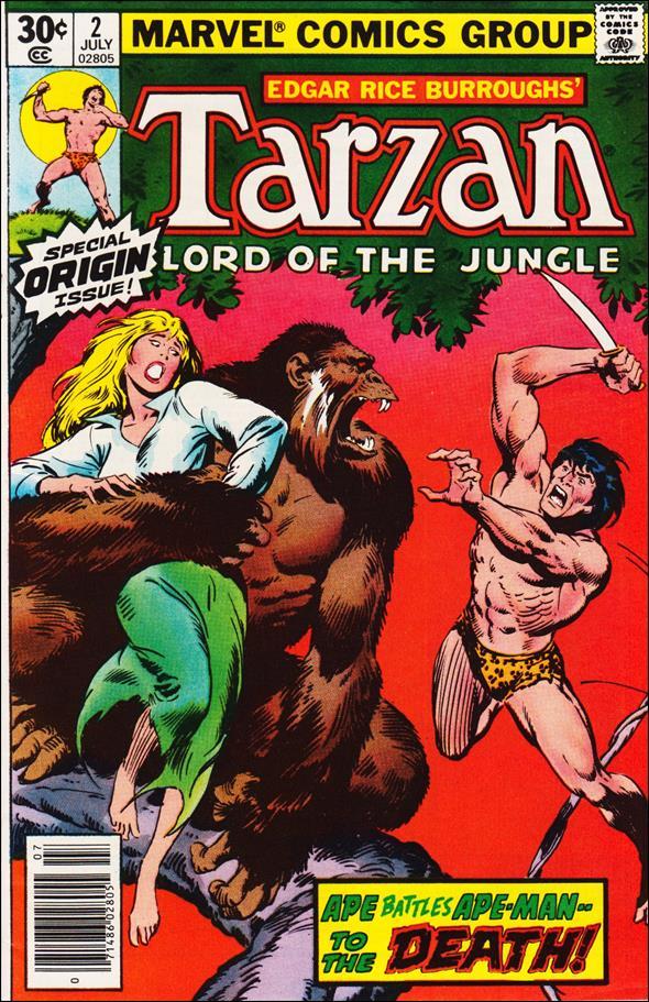 Tarzan (1977) 2-A by Marvel