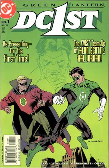 DC First: Green Lantern/Green Lantern 1-A by DC