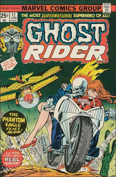 Ghost Rider (1973) 12-A by Marvel
