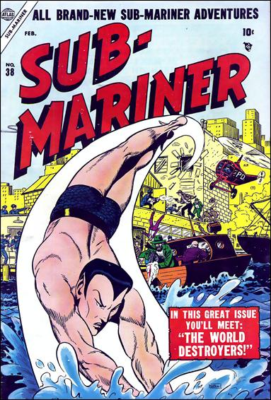 Sub-Mariner (1941) 38-A by Atlas