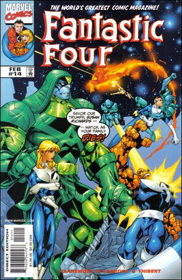 Fantastic Four (1998) 14-A by Marvel