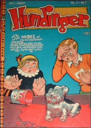 Humdinger (1947) 2-A by Novelty Press