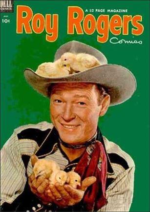 Roy Rogers Comics 65-A