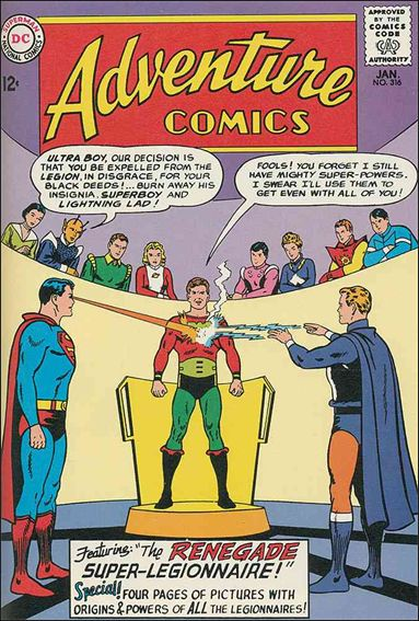 Adventure Comics (1938) 316-A by DC
