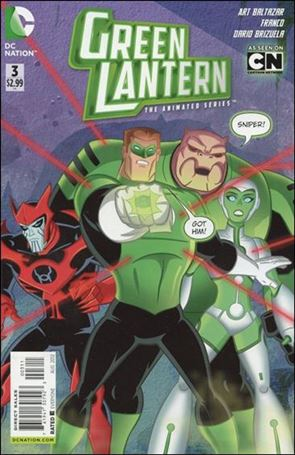 Green Lantern: The Animated Series 3-A