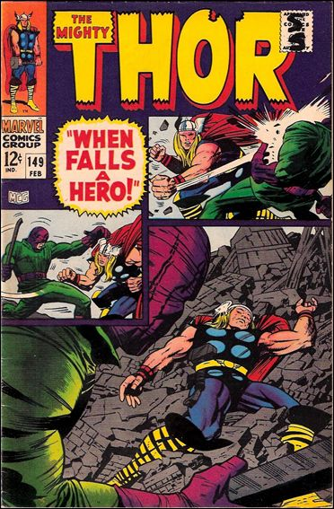 Thor (1966) 149-A by Marvel