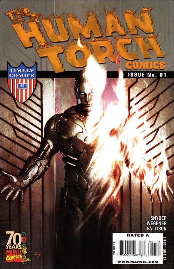 Human Torch Comics 70th Anniversary Special  1-A by Marvel