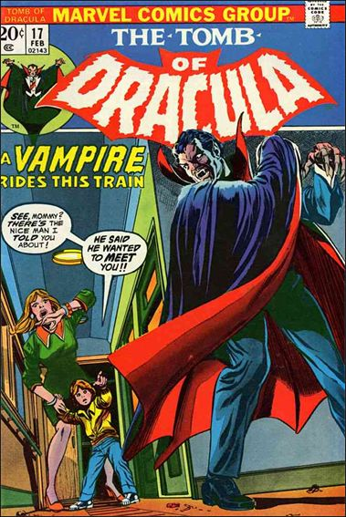 Tomb of Dracula (1972) 17-A by Marvel