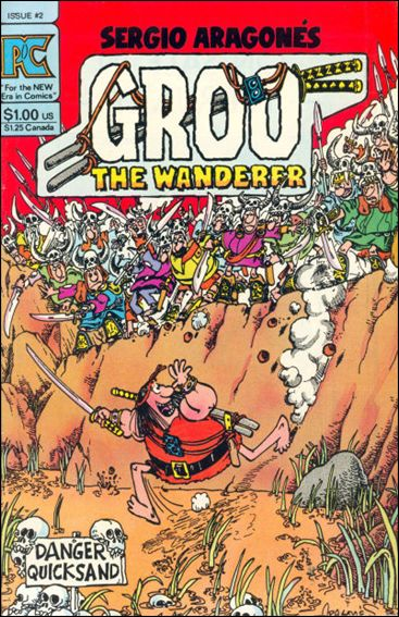 Groo the Wanderer 2-A by Pacific Comics