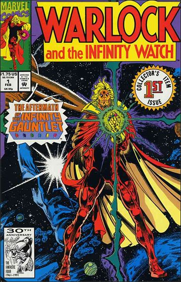 Warlock and the Infinity Watch 1-A by Marvel