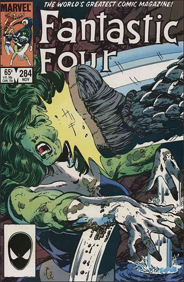 Fantastic Four (1961) 284-A by Marvel