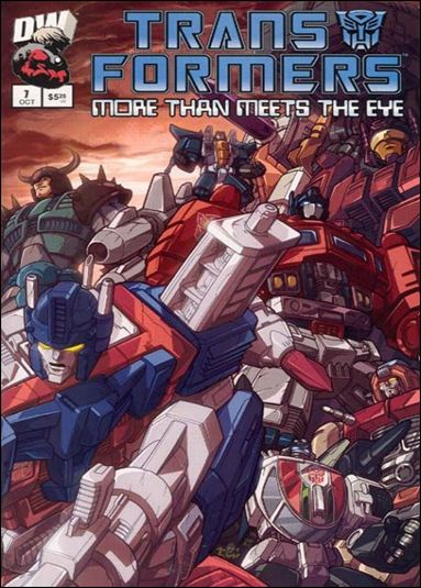 Transformers: More Than Meets the Eye (2003) 7-A by Dreamwave