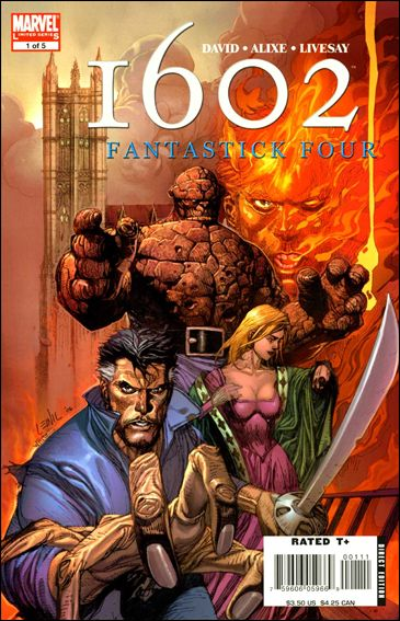 Marvel 1602: Fantastick Four 1-A by Marvel