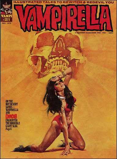 Vampirella 21-A by Warren