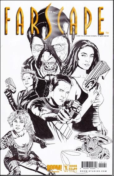 Farscape (2008) 1-H by Boom! Studios