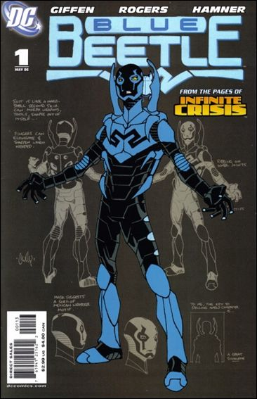 Blue Beetle (2006) 1-C by DC