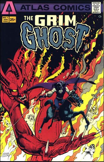 Grim Ghost (1975) 1-A by Atlas-Seaboard