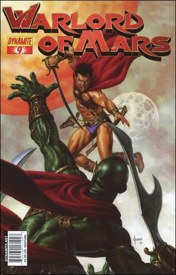 Warlord of Mars 9-A by Dynamite Entertainment