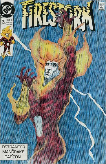 Firestorm The Nuclear Man (1987) 98-A by DC