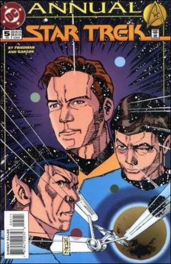 Star Trek Annual '5'-A by DC