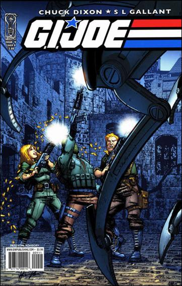 G.I. Joe (2008) 9-A by IDW