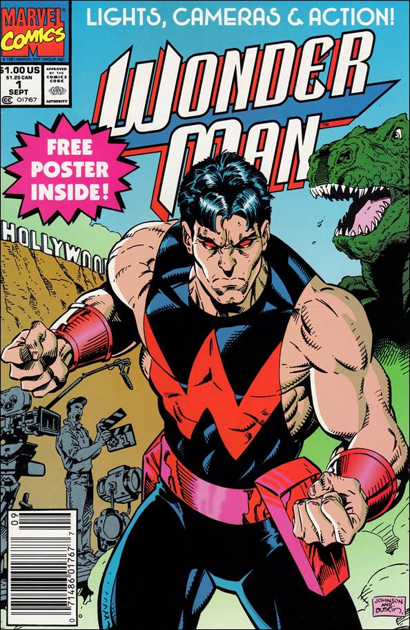 Wonder Man (1991) 1-A by Marvel