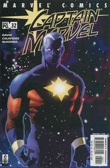 Captain Marvel (1999) 32-A by Marvel