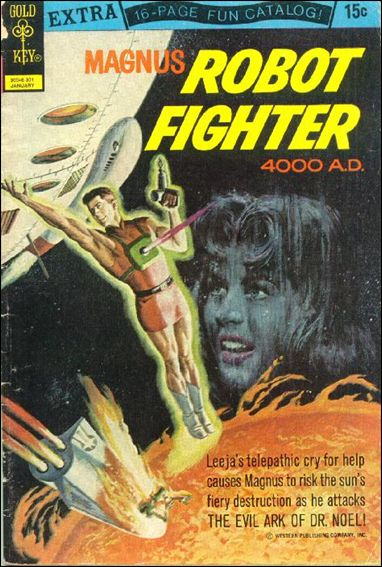Magnus, Robot Fighter (1963) 34-A by Gold Key