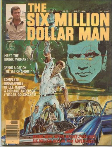 Six Million Dollar Man (1976/07) 1-A by Charlton