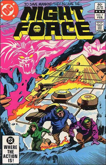 Night Force (1982) 7-A by DC