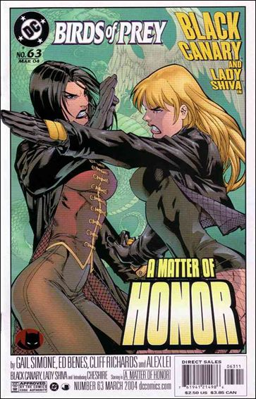 Birds of Prey (1999) 63-A by DC