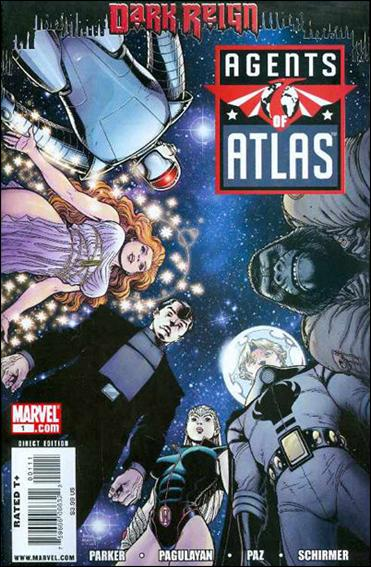 Agents of Atlas (2009) 1-A by Marvel