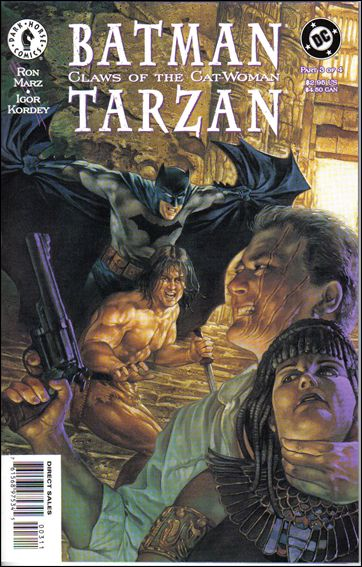 Batman/Tarzan: Claws of the Cat-Woman 3-A by Dark Horse