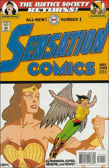 Sensation Comics (1999) 1-A by DC