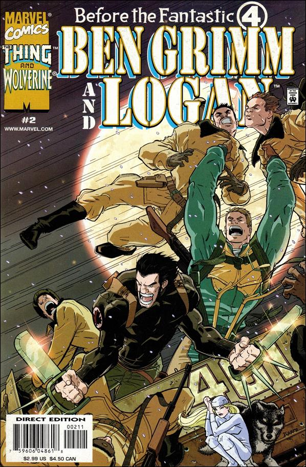 Before the Fantistic Four: Ben Grimm and Logan 2-A by Marvel