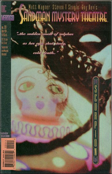 Sandman Mystery Theatre 20-A by Vertigo