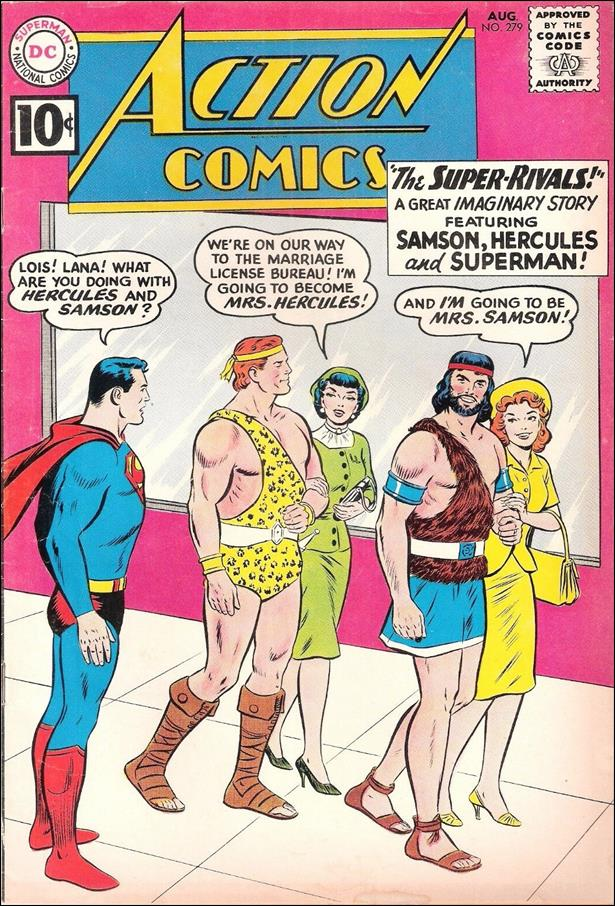 Action Comics (1938) 279-A by DC