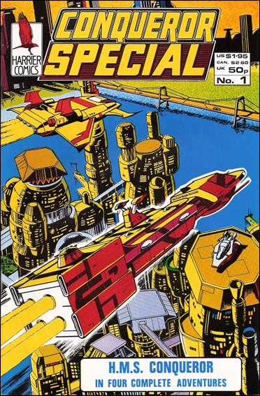 Conqueror Special 1-A by Harrier Comics