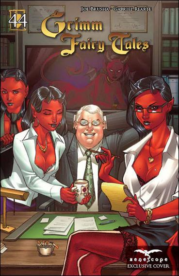 Grimm Fairy Tales (2005) 44-B by Zenescope Entertainment