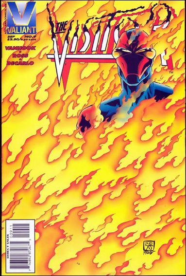 Visitor (1995) 9-A by Valiant