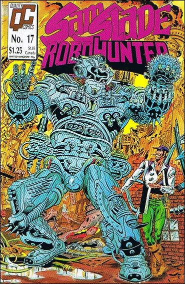 Sam Slade Robo Hunter 17-A by Quality Comics