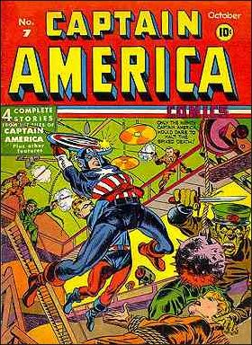 Captain America Comics (1941) 7-A by Timely